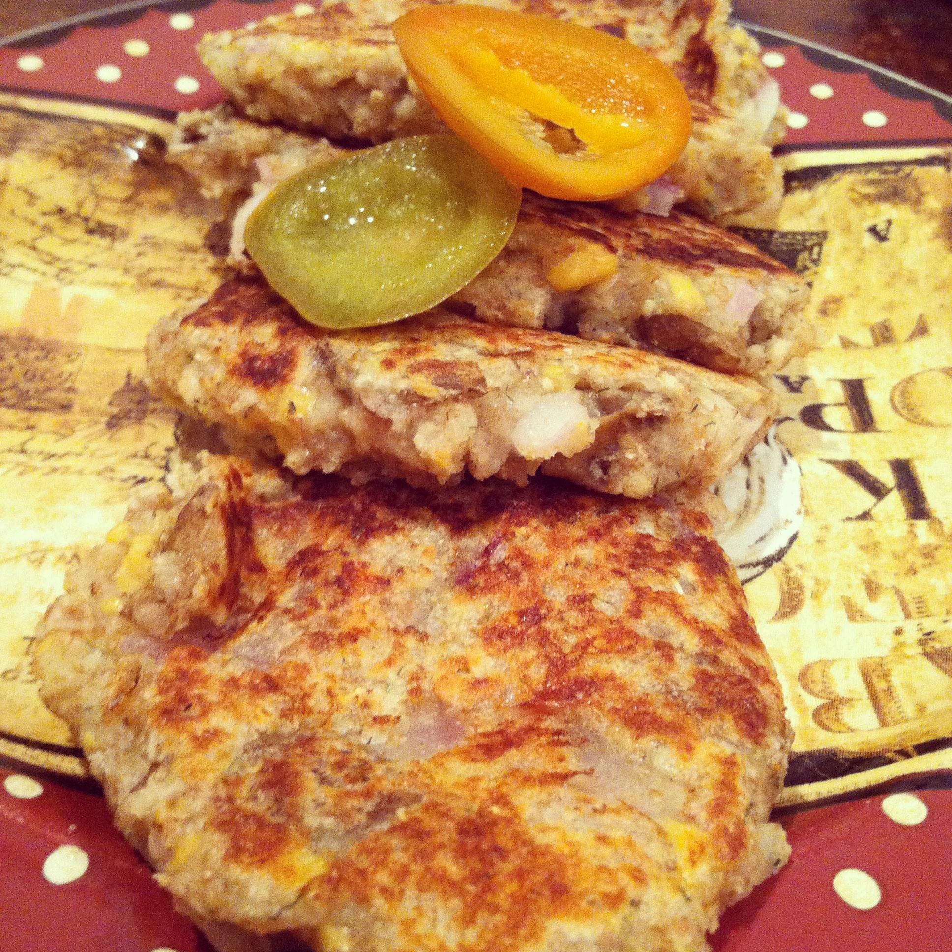 Vegan Potato & Cheddar Pancakes