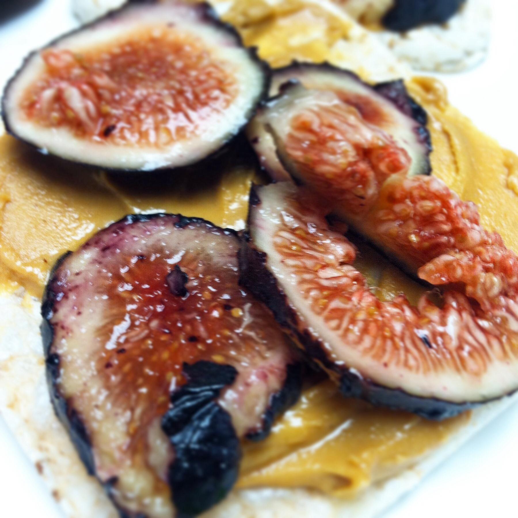 Figs & Peanut Butter