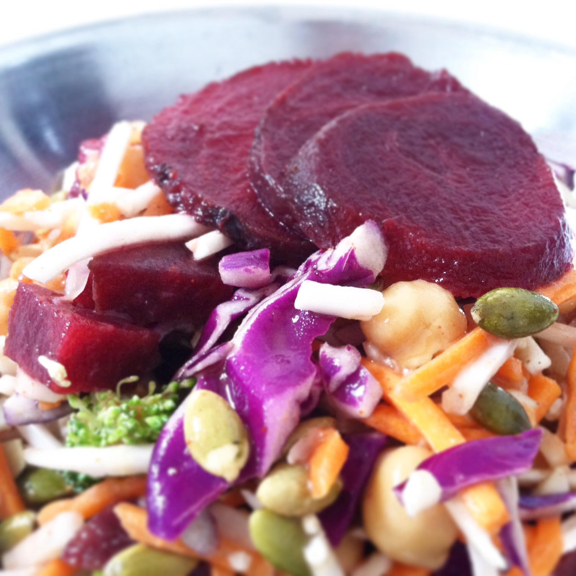Vegan Maple Dijon Beet Salad